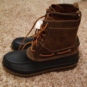 Sperry Duck Boots Size: 8